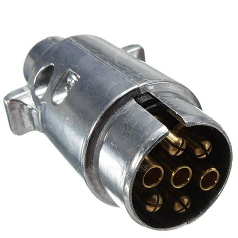 boat plug adapter 7 pin trailer light adapter plug connector round to boat