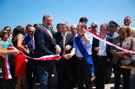 il presidente della provincia casadio ringrazia la regione per la torre quetta riapre la spiaggia dei baresi