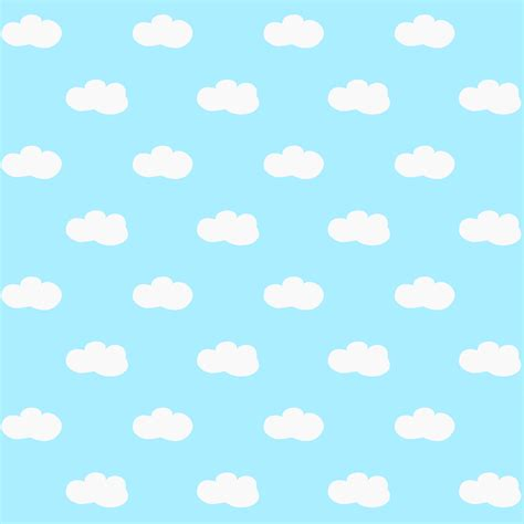 pattern paper digital free digital fluffy clouds scrapbooking papers