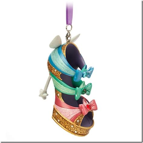 disney runway shoe ornaments fashion for your christmas