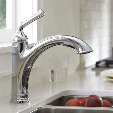 american kitchens faucet american standard portsmouth 1 handle pull out kitchen