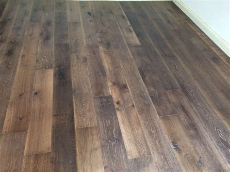 tumbled oak engineered scraped and