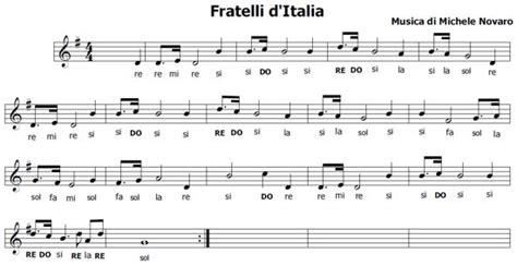 inno di mameli testo originale l inno di mameli o fratelli d italia inno italiano