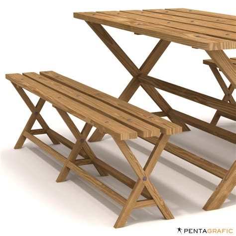 rustic picnic bench rustic picnic table bench v2 strata