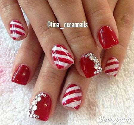 2018 christmas nails theme 15 gel nails designs ideas 2016 fabulous nail designs