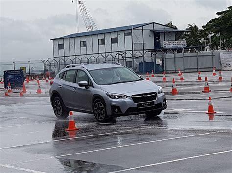 subaru singapore motor image launches subaru outback xv with eyesight at