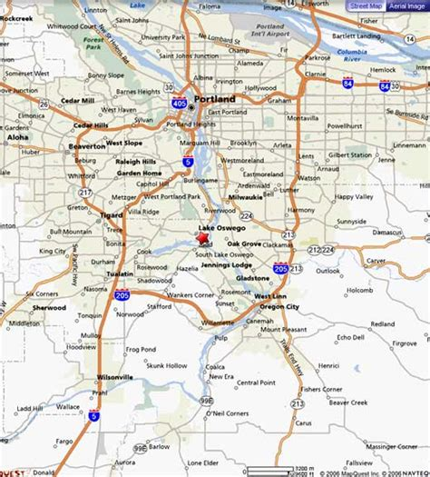 map of oregon lake oswego relocate to lake oswego oregon relocation information