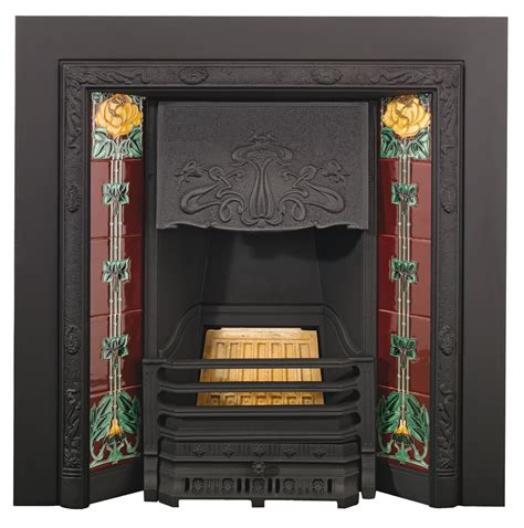 fireplace stores in delaware stovax nouveau tiled insert fireplace