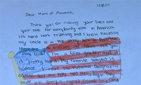 Service Member Letter Los Gatos Dar Hopes To Set A Guinness Record For Most Letters To Personnel The