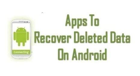 how to recover deleted on android 10 best apps to recover lost data on android without using computer