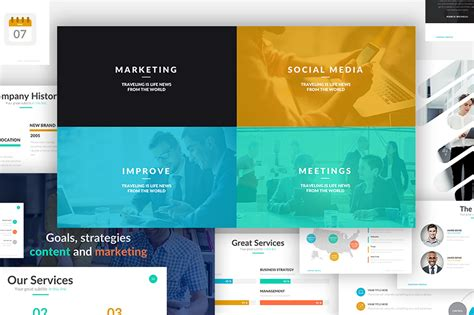 business powerpoint template powerpoint templates free premium