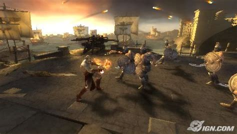 funbook gaming god of war chains of olympus with ppsspp