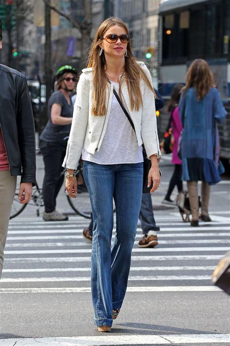 Jean Sofia sofia vergara in out in new york city april 2014