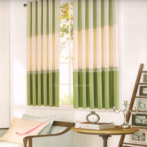 Green And Beige Curtains Green And Light Beige Curtain No Valance 2016 New Arrival