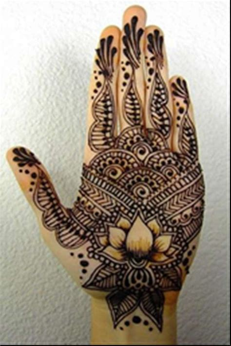 awesome henna mehandi designs for palms with pictures