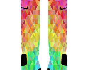 colorful nike socks nike elite socks etsy