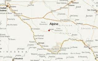 where is alpine on the map alpine location guide