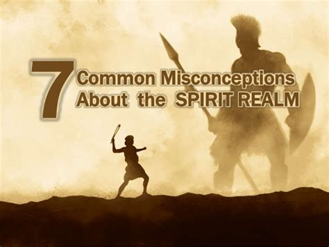 7 Common Myths About Birth by 7 Common Misconceptions About The Spirit Realm
