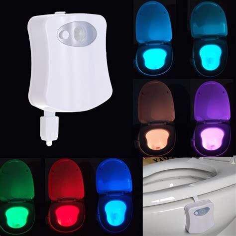 luz abajur vaso sanitario lightbowl  sensor  led