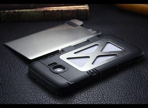 Samsung S7 Edge Iron 3 Artwork Casing Cover Hardcase armor king iron luxury shockproof stainless steel aluminum metal f armor king