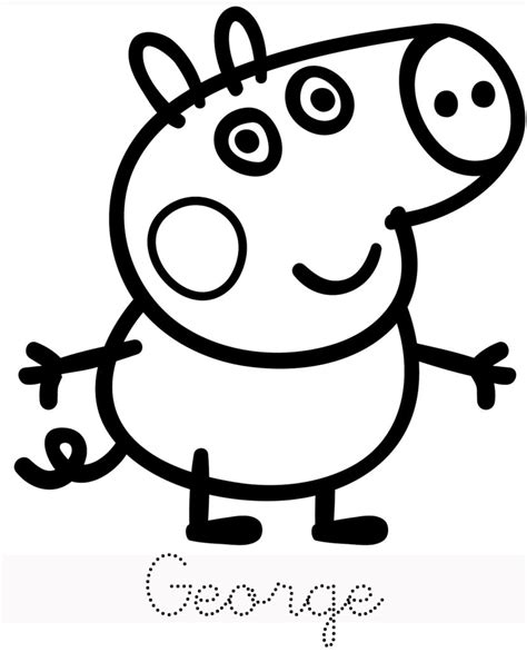peppa pig coloring pages printable pdf coloring pages photo peppa pig colouring pages to print
