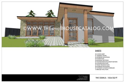 design house online catalog no 28 cedrus modern house plan small house catalog