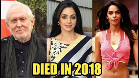 actor died 2018 6 famous bollywood actors died in 2018 youtube
