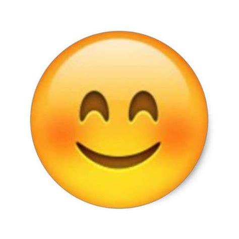 imagenes de un emoji feliz art 237 culos similares a pegatinas de emoji feliz rubor 1