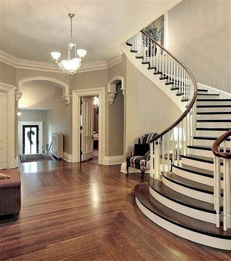 entryway stairs beautiful entry love the curved stairs and staircase