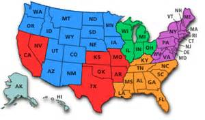 Usa State Map Quiz by United States Map Quiz As Well As United States Regions