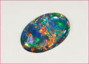 Opel Gemstone Opal In Particular Black Opal Has Historically Been