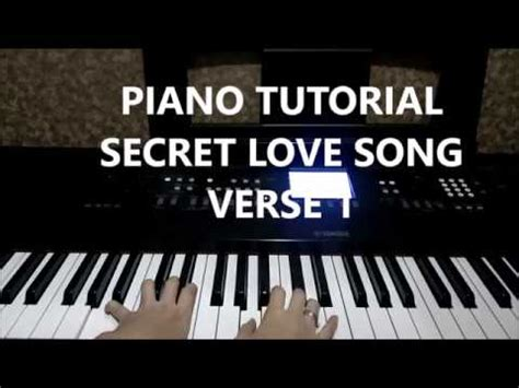 secret piano tutorial piano tutorial verse 1 secret song