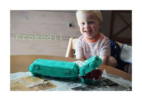 Krokodil Basteln Eierkarton by Basteln Mit Eierkarton F 252 R Spielzeuge Und Dekoration