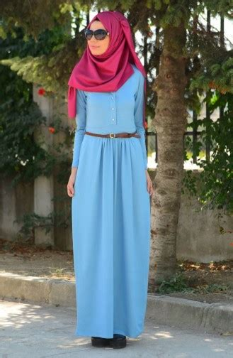 Tunik Mutif 146 Size tesett 252 r elbise 4028 04 buz mavi