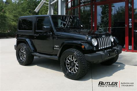 black jeep tires jeep wrangler with 20in black rhino pismo wheels