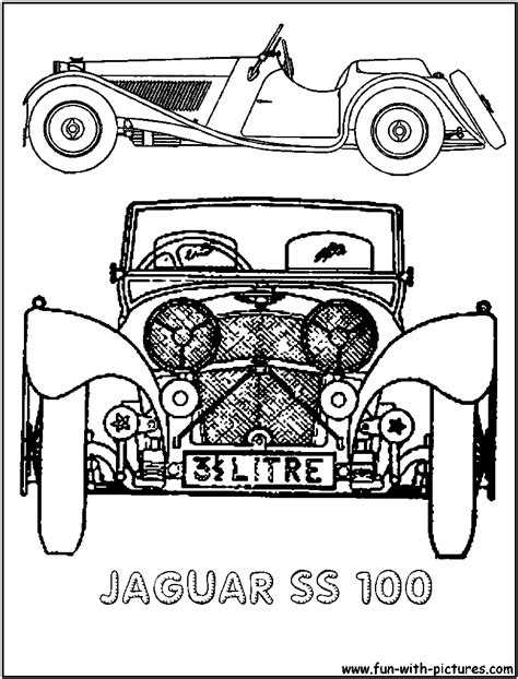 jaguar cars coloring pages jaguar car coloring pages