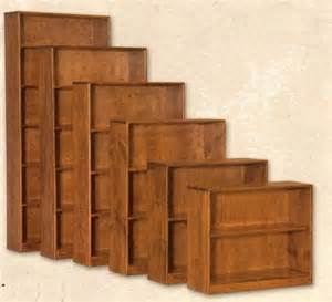10 inch wide bookcase pine 10 quot fixed shelf bookcase 30 quot x 60 unfinished