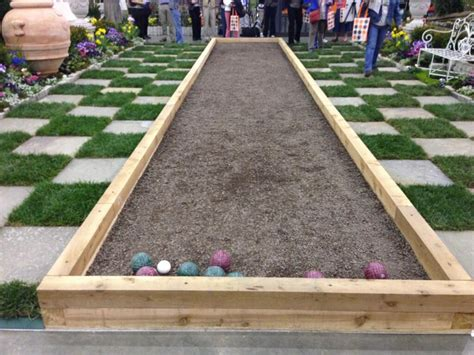 backyard bocce ball court best 25 bocce court ideas on pinterest bocce ball court
