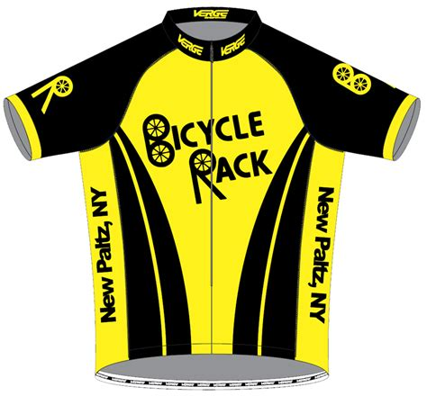 Back On The Racks Branch Nj by Bicycle Rack Jersey Front