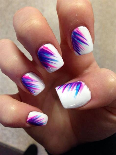 argyle pattern nail art summer nails nail art pinterest