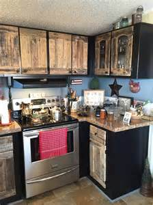 Old Spice Rack Kitchen Cabinets Using Old Pallets