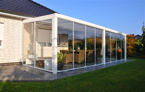 verande in vetro veranda completa con scorrevoli vetro vetro