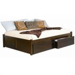 atlantic furniture concord flat panel wood daybed in
