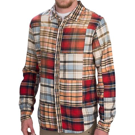 Patchwork Flannel - gramicci patchwork flannel shirt for save 89