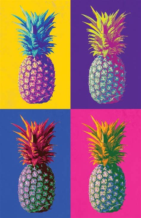 wallpaper craft pinterest different colored pineapples this is such a fun piece for