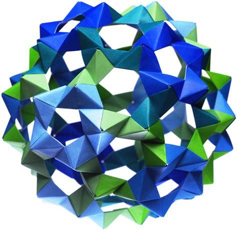 Origami Sphere - glyphic buckyball origami