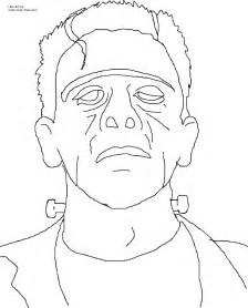 frankenstein coloring pages classic frankenstein coloring page