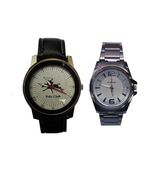 sport white leather analog price in