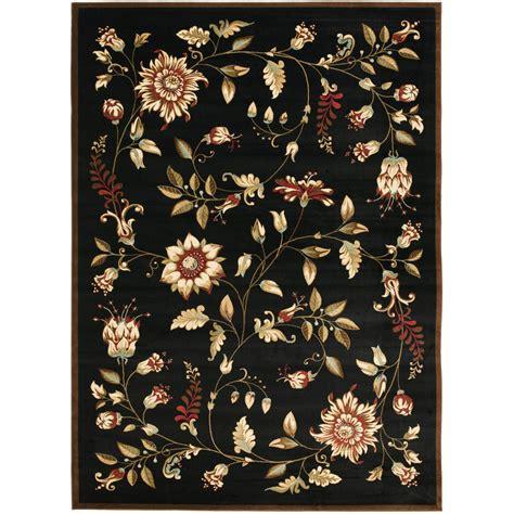 Shop Safavieh Lyndhurst Floral Swirl Black Multi Black Floral Area Rug