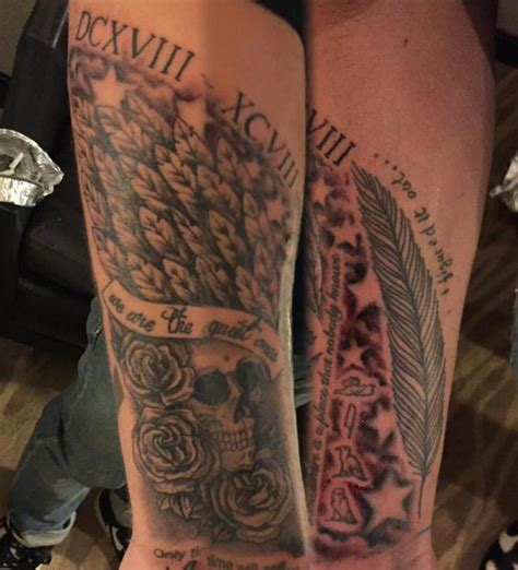 liam payne tattoo liam payne debuts two new arm tattoos in